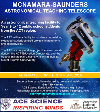 Astronomical Teaching Telescope